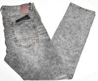 Sean John Jeans Men's Athlete Tapered Stretch Denim Static Wash Grey Urban P062