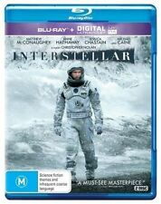 INTERSTELLAR New Blu-Ray + UV (2 Disc) MATTHEW McCONAUGHEY ***