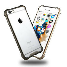 Transparent Clear Hard Back Case Silicone Bumper Cover for iPhone SE 5 6s+ 7+ 8