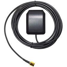 HQRP LNA Gain 1575.42MHz SMA Masculina GPS Activa Antena Aérea Conector de Cable