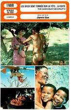 LES DIEUX SONT TOMBES SUR LA TETE LA SUITE (Fiche Cinéma)1988 Gods Must Be Crazy
