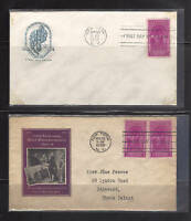 1st day Cover 1930s, #854, FDC with cachets