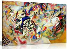 Composition Vii By Wassily Kandinsky Canvas Wall Art Picture Print