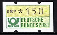 BRD 1981 Automaten-Freimarke 150er Postfrisch gelbe Gummierung ohne Nr. (21389)