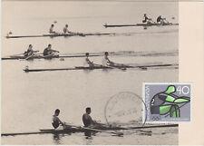 Yougoslavie 1964 Aviron Jeux Olympiques Tokyo  Carte Maximum