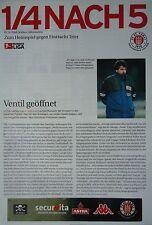Programm Info 2002/03 FC St. Pauli - Eintracht Trier