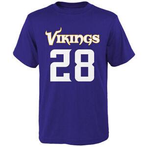 NFL Team Youth Adrian Peterson Minnesota Vikings Short Sleeves Tee