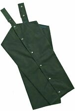 Country Wax Cotton Chaps Waterproof Fishing Shooting Hunting Beating - Free Post