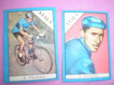 FAVERO ATALA FIGURINA CYCLISME IMAGES CARDS BUSTE ACTION 1960 NANNINA ITALIE