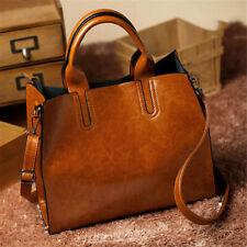 Women Ladies Leather Shoulder Bag Tote Purse Handbag Messenger Crossbody  ! #