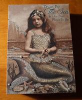 Vintage Victorian Retro Mermaid Sign Pearl Jeweled Starfish Beach Home Decor NEW