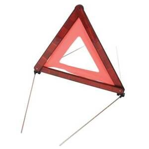 Silverline Approved Emergency Roadside Safety Hazard Warning Breakdown Triangle