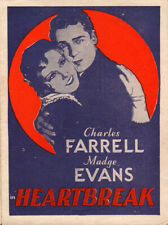 Heartbreak Original Movie Herald from the1931 Movie