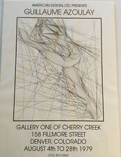 Vintage 1979 Guillaume Azoulay hand signed Gallina poster/ ballerina