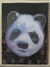 "Charming Baker ""Panda Experimental No. 8"" INCLUDES 2nd screenprint on reverse!!"