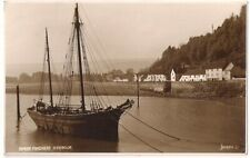 SUPERB OLD R/P POSTCARD - THE HARBOUR - MINEHEAD - SOMERSET 1948