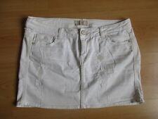 Mini jupe Guess Blanc Taille 42 à - 54%