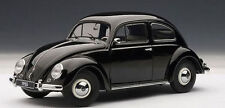 1/18 AUTOart 1955 VOLKSWAGEN VW COCCINELLE BEETLE Noir