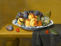 STILL LIFE WITH PEACHES Accent Tile Mural Kitchen Bathroom Wall Backsplash 8x6