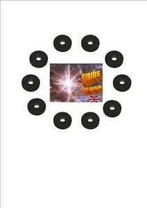 @ NEW!  20  Anti Vibration Silicone Washers Black FREE POST @