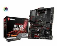MSI MPG X570 Gaming Plus ATX Motherboard (AMD AM4, DDR4, PCIe 4.0, SATA 6Gb/s)