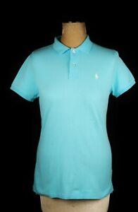 "Polo Ralph Lauren Skinny Blue T Shirt Sz L Chest 36"""