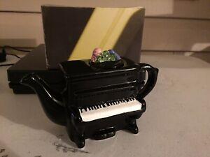 """Decorative Piano Teapot New 3 1/2""""T  7 1/2""""W"""