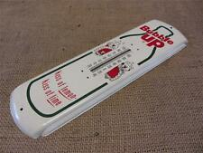 Vintage Bubble Up Thermometer > Antique Old Store Display Sign Soda Signs 8818