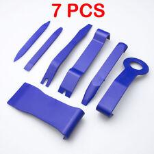 7Pcs Plastic Car Door Clip Panel Trim Dash Radio Audio Removal Pry Tool Kit Set