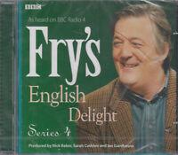 Fry's English Delight Series 4 2CD Audio NEW* BBC Radio 4 Stephen Language