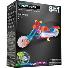 Laser Pegs 8-in-1 Chopper Building Set