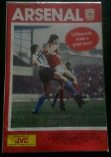 Arsenal V Spurs Littlewoods Cup Semi-Final 1st Leg 1987 Tottenham