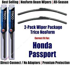 2pk Super-Premium NeoForm Wipers fit 1994-1997 Honda Passport 16180x2