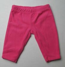 Infant Baby Girls Newborn Carter's Soft Pink Pants