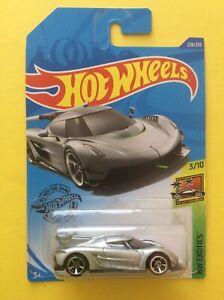 1:64 Hot Wheels 2020 Koenigsegg Jesko HW Exotics 3/10 Silver