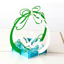 3D Pop Up Greeting Cards Sunflower Birthday Mother Day Thank You Christmas 0P