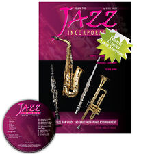 Jazz Incorporated Vol 2 for Tenor Saxophone Book CD Sheet Music Kerin Bailey