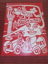 SALON DE MAI YVON 1983 (ref 58 )