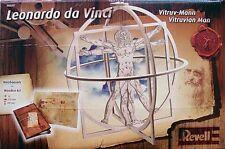 REVELL 1:16 KIT IN LEGNO UOMO VITRUVIANO LEONARDO DA VINCI ART 00509