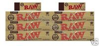 Raw King Size Classic Rolling Papers And Raw Tips Kingsize Paper Tip Set