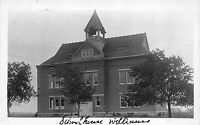 Real Photo Postcard School House in Williams~110628