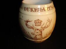 Circa 1910 Dukehart Cream Ale Barrel Mug, Baltimore, Maryland