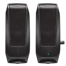 64ee172a195 Logitech 980-000012 Logitech S-120 2.0 Speaker System - 2.3 W RMS -