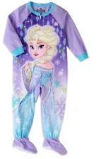 Disney Frozen Elsa  Toddler Girls Footed  Pajamas Size 2T