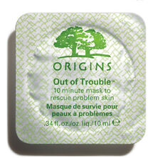 Origins OUT OF TROUBLE 10 Minute Problem Skin Face Mask: 1 x 10ml Mini Pod