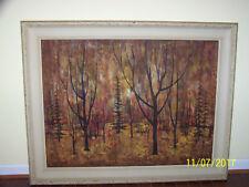 "Lillian Goldberg Listed Women American Artist""Large""Original Oil GalleryPainting"