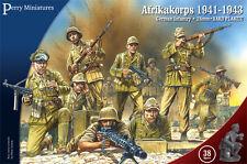 **BNIB** PERRY MINIATURES GERMAN AFRIKAKORPS 1941 - 1943