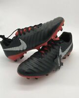 NIKE TIEMPO LEGEND 7 PRO FG SOCCER CLEATS MENS SIZE US 8 BLACK RED AH7241-006