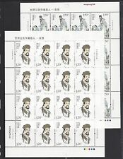 CHINA 2016-7 FULL S/S Father of Forensic Science - Song Ci Stamps 宋慈