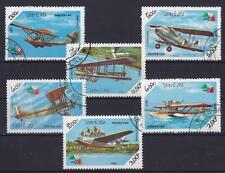 Flugzeuge Laos Satz, gest., Wasserflugzeug, Segelflieger, airplaine, used
